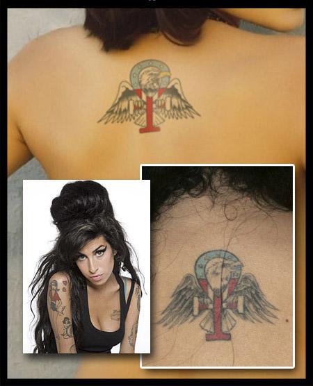 Tatuaggi Amy Winehouse