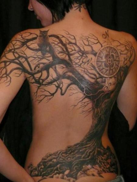 Popolare Tatuaggio Albero: storia e significato! - Modificazione Corporea GI86