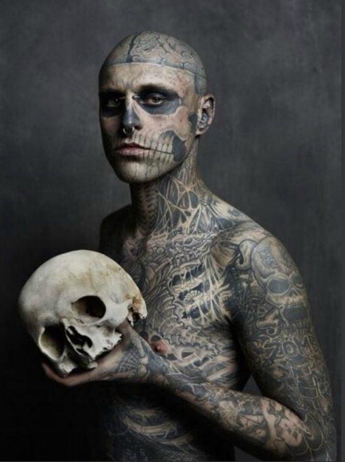Rrick Genest Zombie Boy